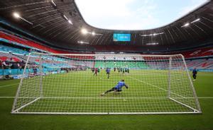 El estadio Allianz-Arena de Múnich