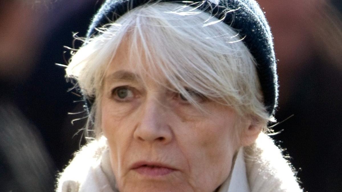 La cantante, modelo y actriz francesa Françoise Hardy.