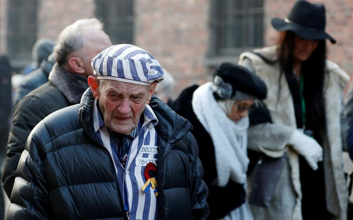 """Los supervivientes de Auschwitz: """"Nunca permanezcáis indiferentes"""""""
