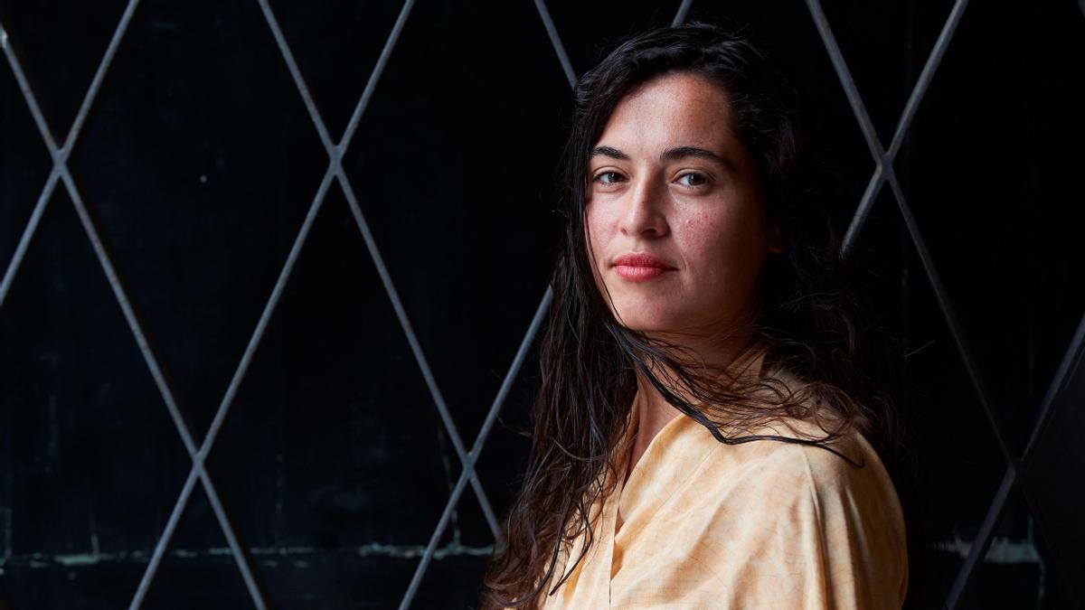Sílvia Pérez Cruz, este miércoles, en Barcelona.