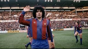 Diego Armando Maradona, en una foto de archivo