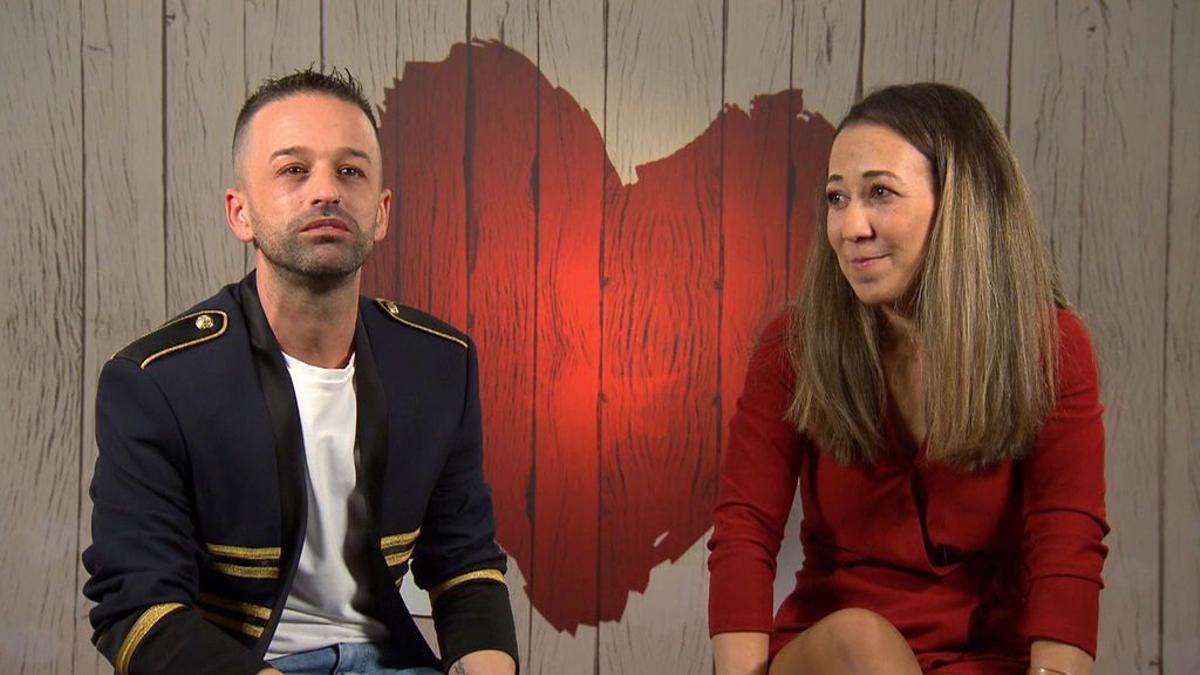 Isidro y María José en 'First Dates'