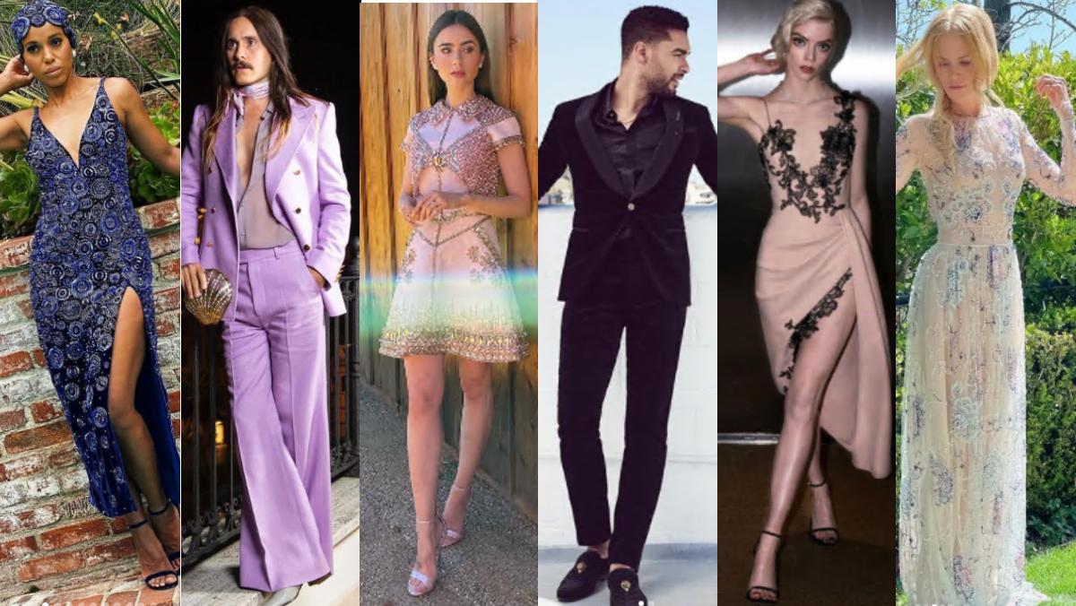 Kerry Washington, Jared Leto, Lily Collins, Regé-Jean Page, Anya Taylor-Joy y Nicole Kidman, los más elegantes de los SAG Awards 2021.