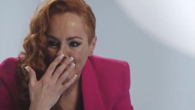 Rocío Carrasco en la docuserie de Tele 5  'Rocío, contar la verdad para seguir viva'.