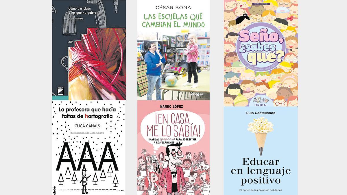 Los seis libros recomendados para profesores