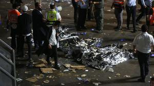Decenas de muertos en un estampida humana en una festividad religiosa en Israel.