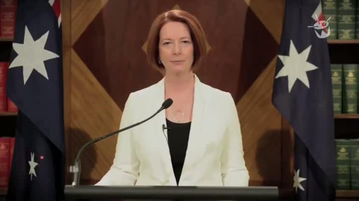 Discurso de la primera ministra australiana, Julia Gillard, sobre el fin del mundo maya.