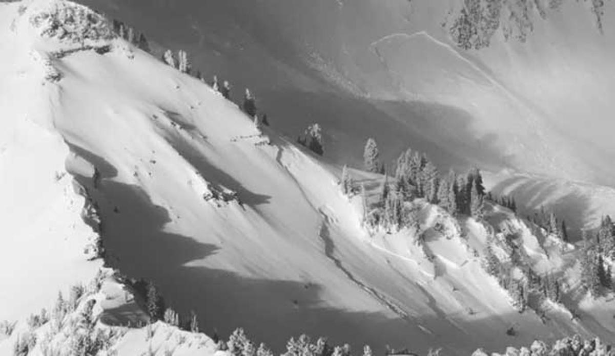 Las avalanchas son frecuentes en este época del año en el Estado de Utah.