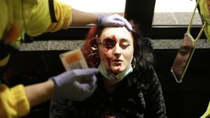 Los Mossos investigan cómo una joven perdió un ojo en las protestas contra la detención de Pablo Hásel. Lo explica el director de los Mossos, Pere Ferrer.