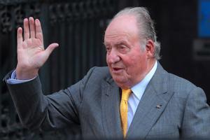 Juan Carlos I, en el 2018.