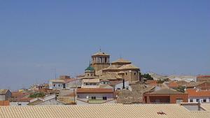 Panorámica de la localidad de Iniesta, en Cuenca.