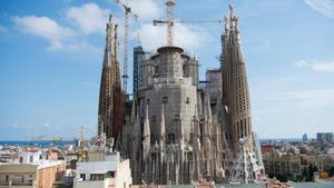La Sagrada Família de Barcelona, en una imagen de archivo.