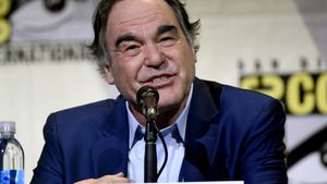 Oliver Stone, en la Comic-Con International de San Diego