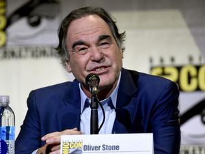 Oliver Stone, en la Comic-Con International de San Diego