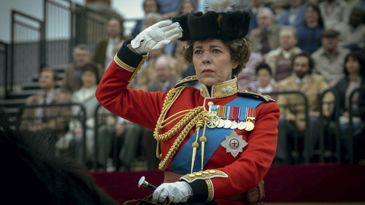 Olivia Coldman, en la serie 'The crown',