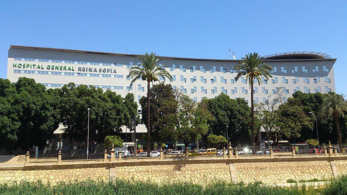 El Hospital Reina Sofía de Murcia.