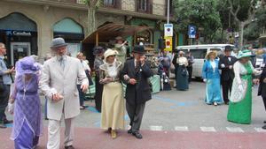 El barrio se llenará de gente vestida como hace un siglo.
