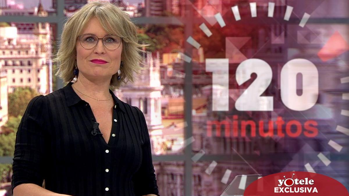 María Rey se mantendrá al frente de '120 minutos' en Telemadrid la próxima temporada