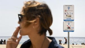 Un 4% de les platges catalanes són ja espais sense tabac