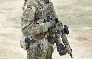 Un soldado boliviano.
