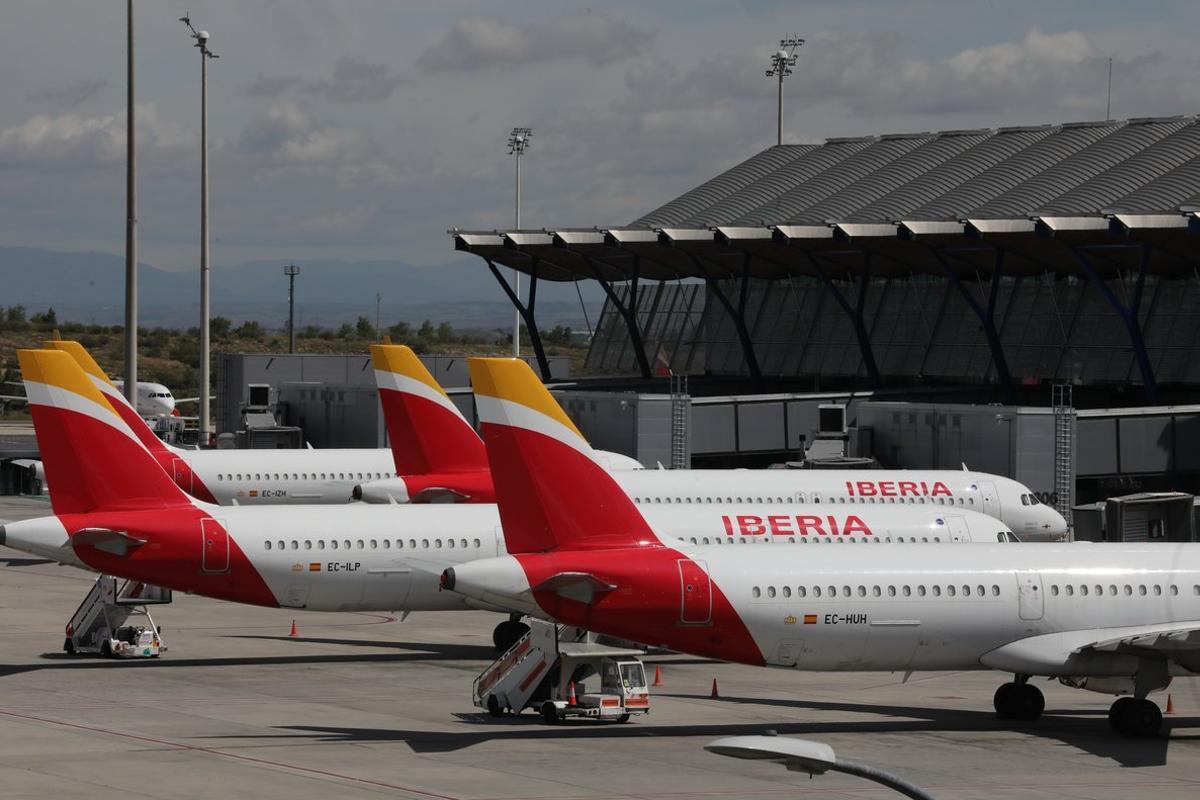 El aeropuerto de Barajas durante el estado de alarma