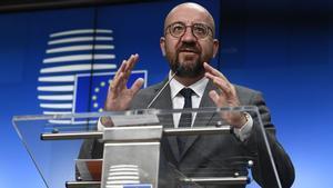 Els líders de la UE transmeten a Pedro Sánchez la «solidaritat europea» per Ceuta