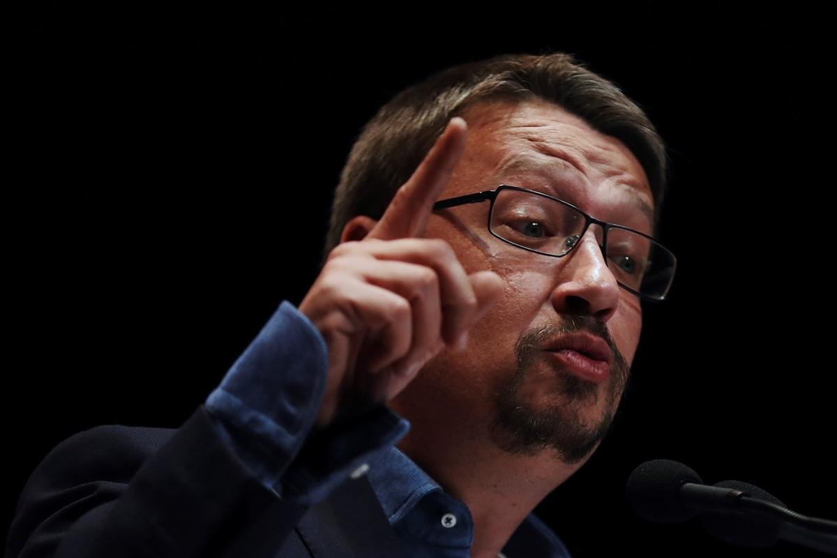 El coordinadorde Catalunya En Comú-Podem, Xavier Domènech.