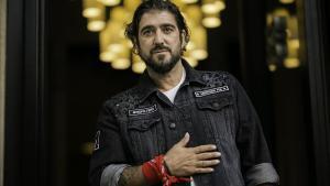 El cantante Antonio Orozco, retratado en Barcelona.