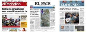 Premsa d'avui: Les portades dels diaris del diumenge 9 de juny del 2019