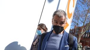 Toni Cantó, hace 10 días, cuando dimitió de los cargos en Ciudadanos y aseguró que retomaba su carrera de actor.