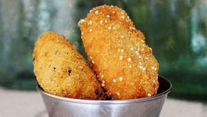 Croq&Roll ofrece unos 20 tipos de croquetas: desde pollo a la parmesana hasta fantasías de pescado.