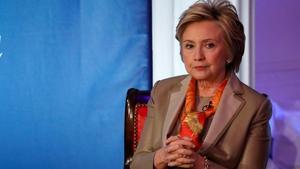 Clinton, en la conferencia en Nueva York, el 2 de mayo.