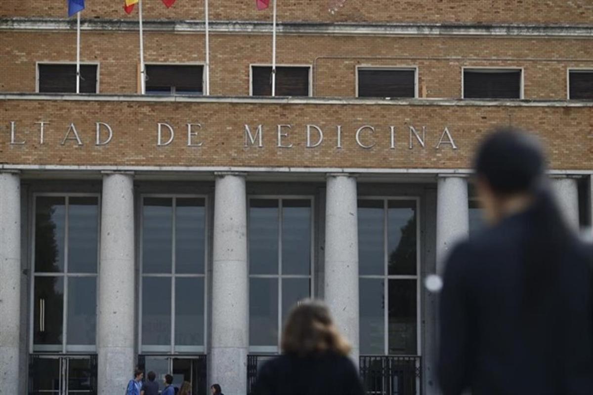 La facultad de Medicina de la Universidad Complutense de Madrid.