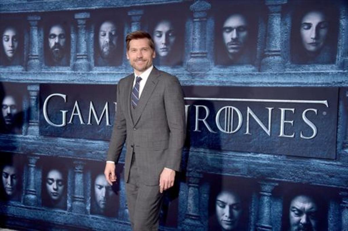 El actor Nikolaj Coster-Waldau, que encarna a Jaime Lannister en 'Juego de tronos'.