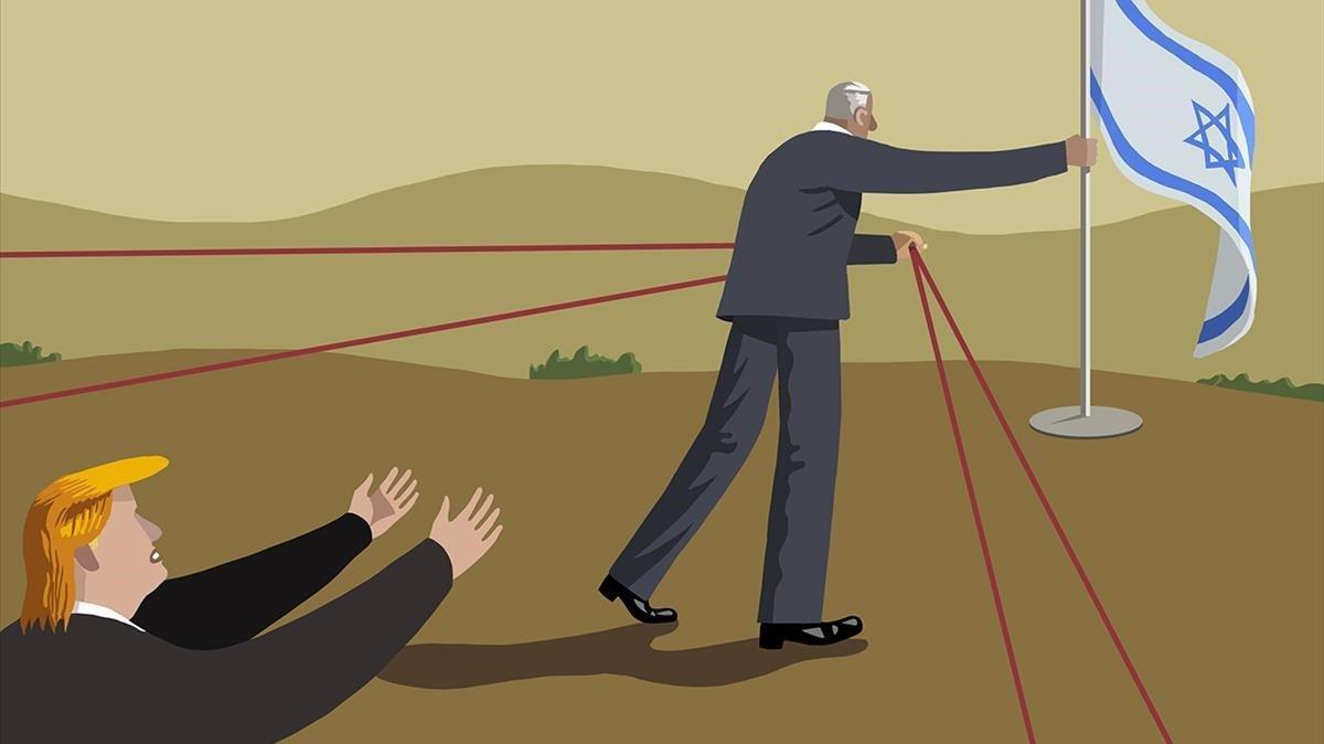 Del Golan a Gaza i tiro perquè em toca