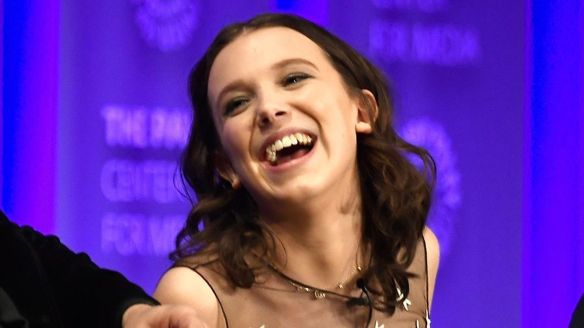 Millie Bobby Brown va patir 'bullying' després de 'Stranger things'
