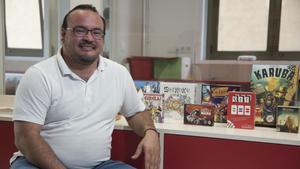 "Luis Cros: «Sempre que puc utilitzo el joc a l'aula"""