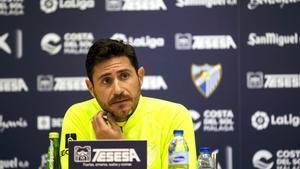 El ex entrenador del Málaga CF, Víctor Sánchez del Almo.