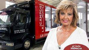 María Teresa Campos vuelve a trabajar en Mediaset: prepara un espacio de entrevistas a bordo de un camión