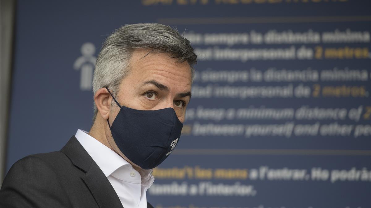 Victor Font, precandidato a la presidencia del Barça.