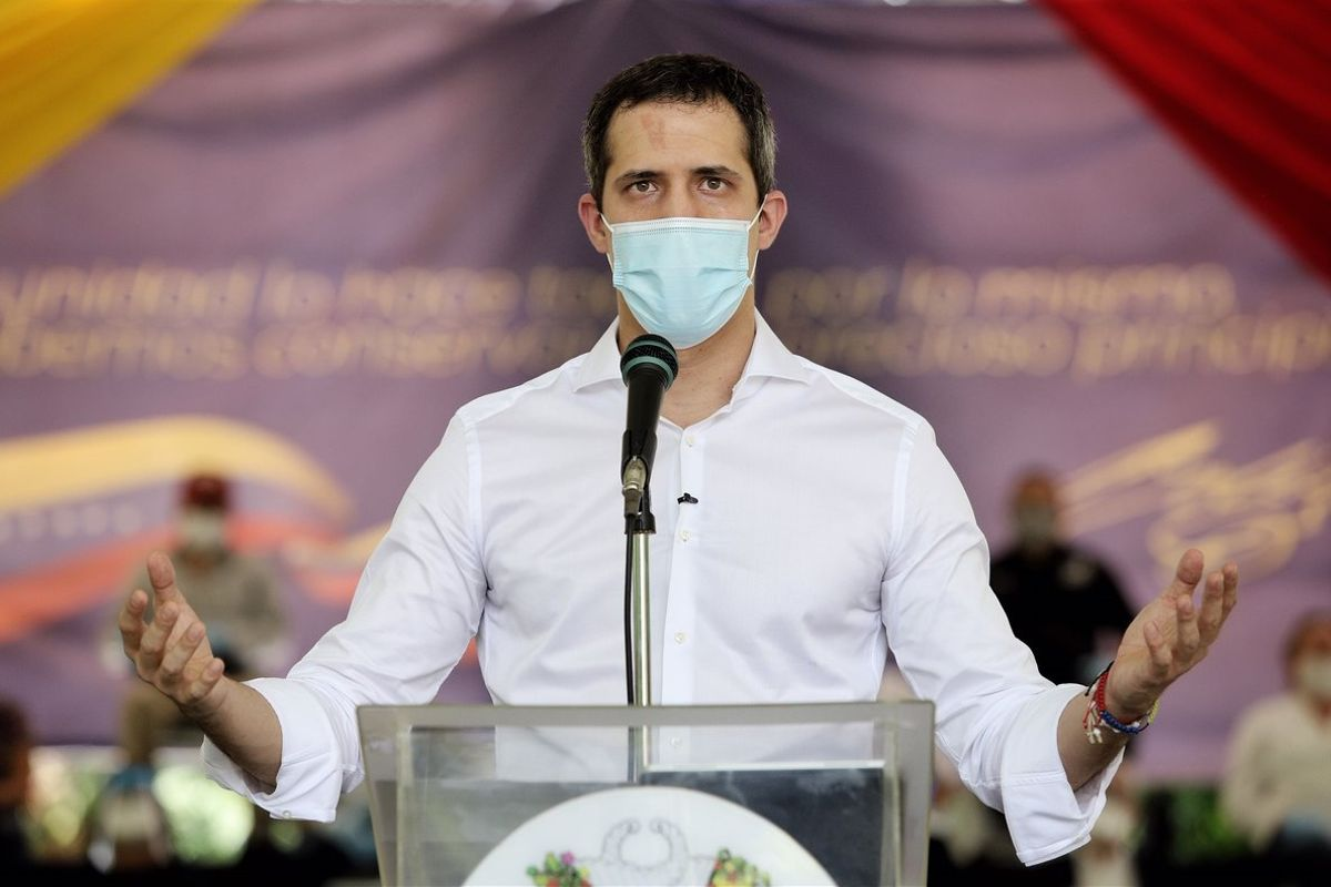 Guaidó invitó a tomar las medidas necesarias para evitar el contagio durante la movilización.