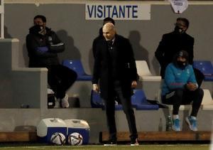 Zidane, en el Alcoyano-Madrid de la Copa del Rey