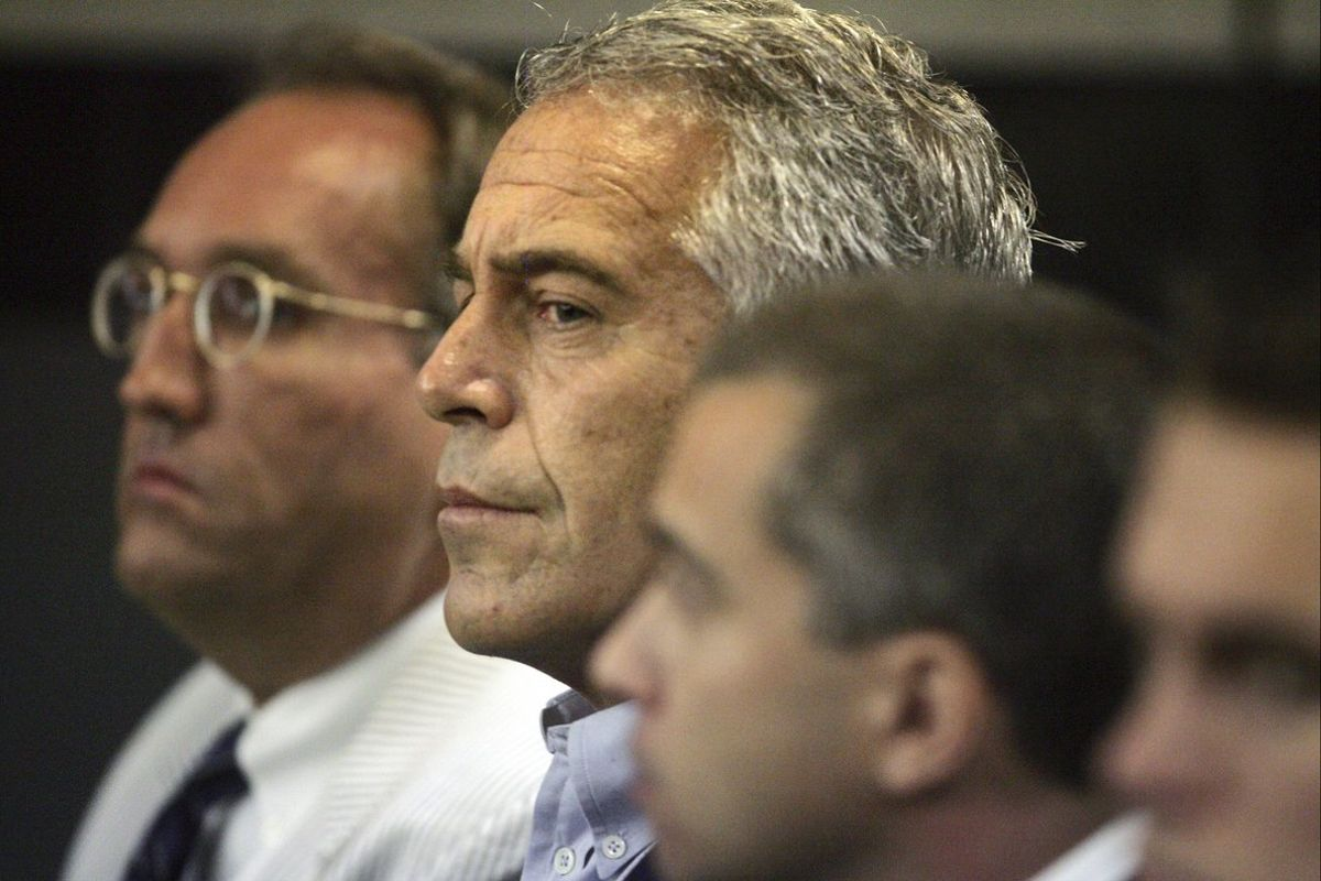 Jeffrey Epstein, durante un juicio, en una imagen de archivo.
