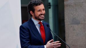 Pablo Casado tilda de cómplices a los partidos y actores de la sociedad civil que avalan los indultos.