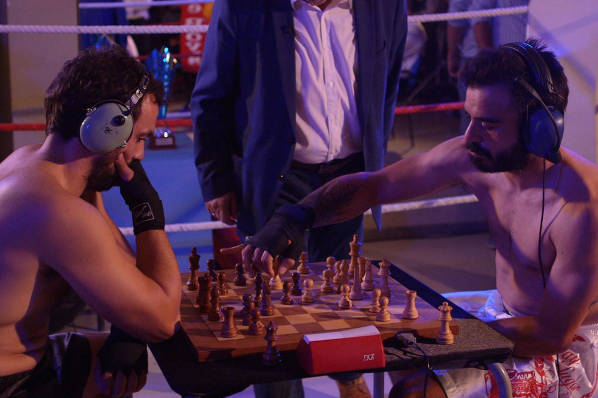 'Chess boxing' en 'Deportes imposibles', de la cadena de pago A&E.