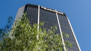Sede del Banc Sabadell en Barcelona.