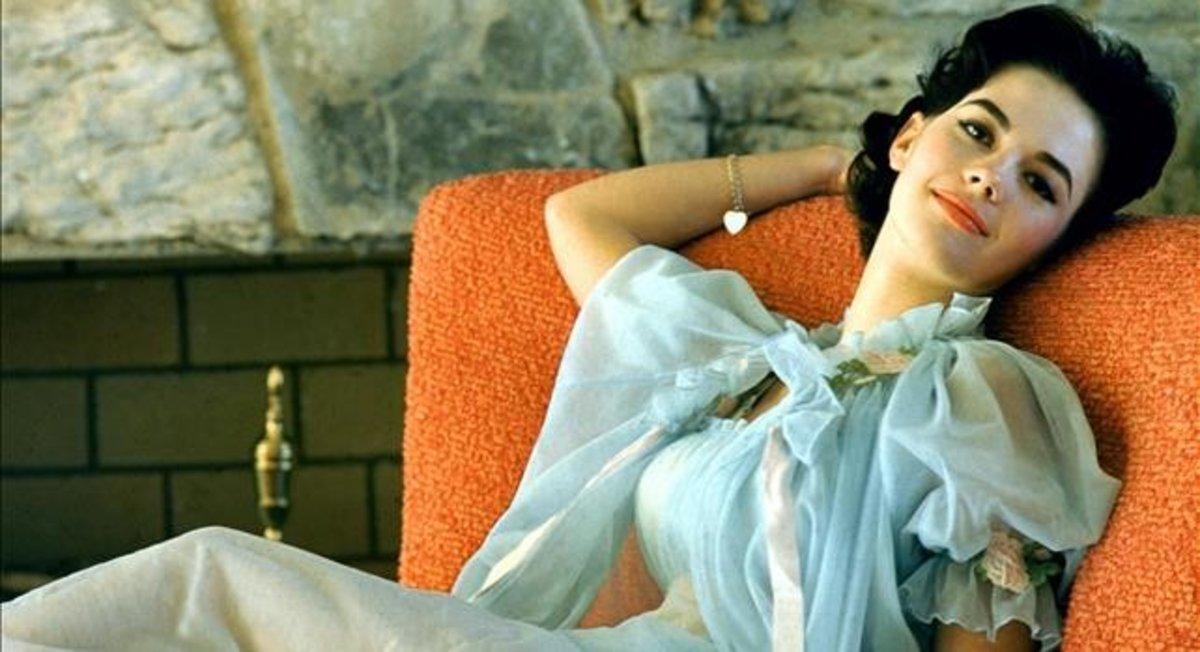Natalie Wood, en una sesión de fotos de 1960.