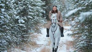 Kim Jong-un, en las faldas del monte Paektu.