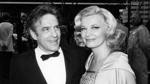 John Cassavetes y su esposa, la actriz Gena Rowlands.