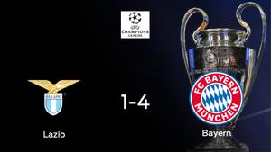 El Bayern de Múnich golea 1-4 a la Lazio y da un gran paso hacia los cuartos de final de la Champions League
